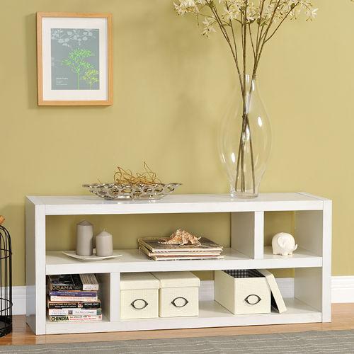 ~Yomei~DIY四格多用途收納櫃 書櫃 展示櫃 電視櫃 白色