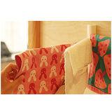 【KM生活】可旋轉三桿活動毛巾掛架/抹布架