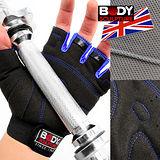 【BODY SCULPTURE】舒適透氣運動手套 C016-92 健身手套