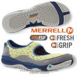 【美國 MERRELL】女 ALLOUT BOLD 都會休閒健走鞋/ 運動鞋.娃娃鞋.(非Nike) 黃/灰 J21658