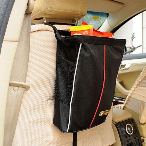 可摺疊汽車防水零食袋置物袋垃圾袋收納袋