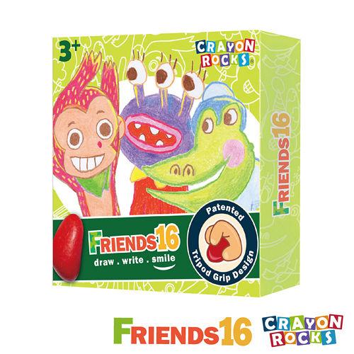 美國【Crayon Rocks】酷蠟石 -畫畫好朋友 16色