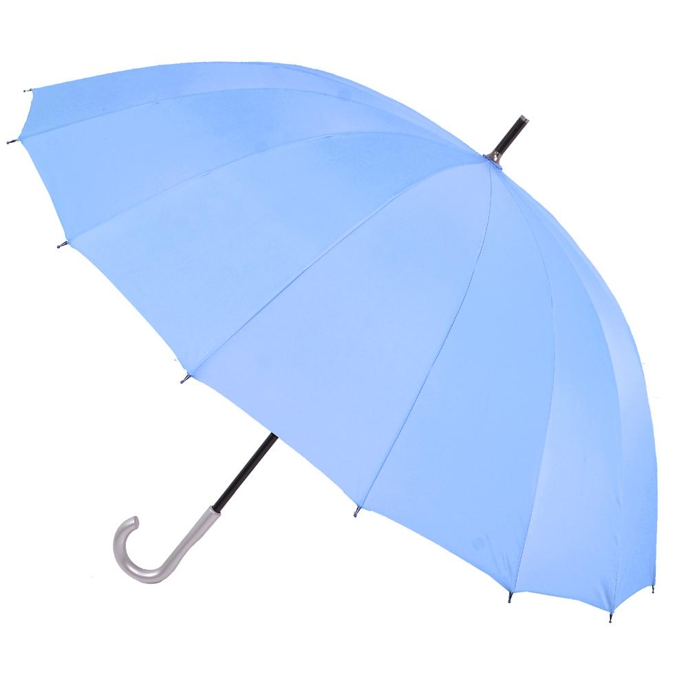 【2mm】日本樂天第一名正16骨無敵傘 (天藍)