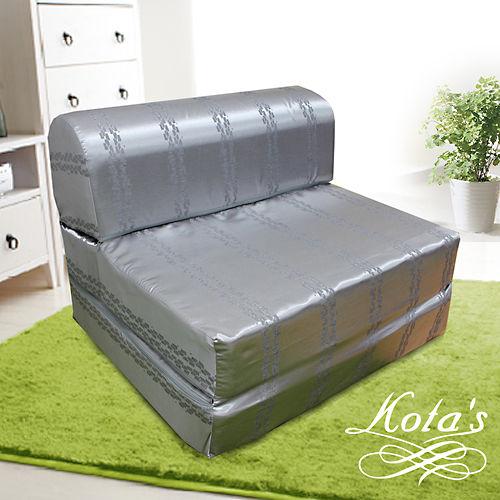 【KOTAS】尊爵緹花彈簧沙發床 椅 單人三尺