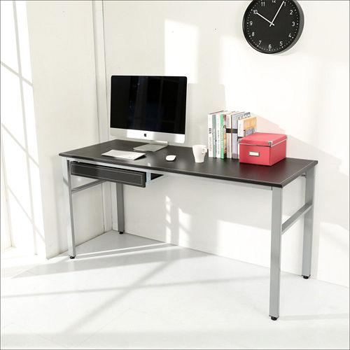 《BuyJM》低甲醛仿馬鞍皮面160公分穩重型附抽屜工作桌