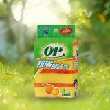 ★買一送一★OP 柑橘除油鑽石晶砂海棉菜瓜布4入