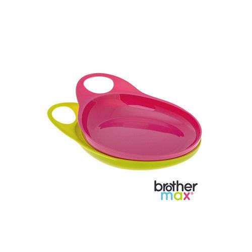 英國 Brother Max 輕鬆握餐盤 - 粉紅 ( 2 入)