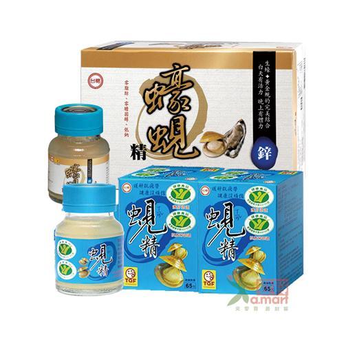 台糖生技 蠔蜆精(24瓶)+原味蜆精(24瓶) 62毫升/瓶;48瓶/箱