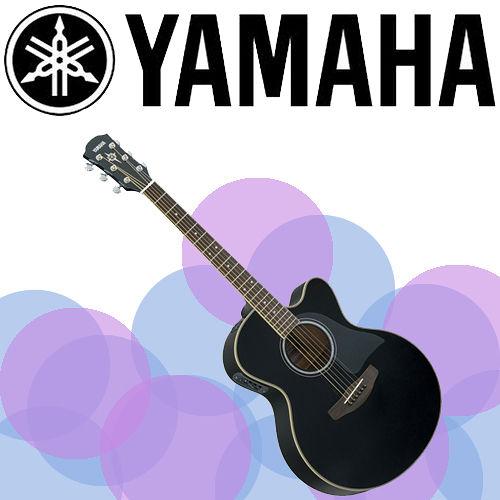 【YAMAHA 山葉】專為舞台表現設計的電木民謠吉他-公司貨保固 (CPX500BK)