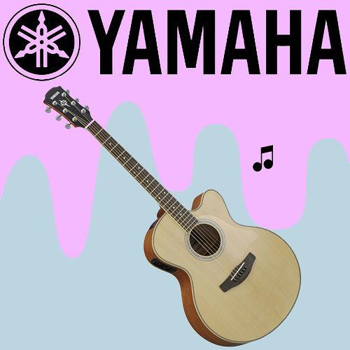【YAMAHA 山葉】專為舞台表現設計的電木民謠吉他-公司貨保固 (CPX500NT)