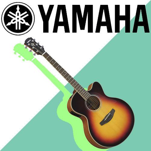 【YAMAHA 山葉】專為舞台表現設計的電木民謠吉他-公司貨保固 (CPX500VS)