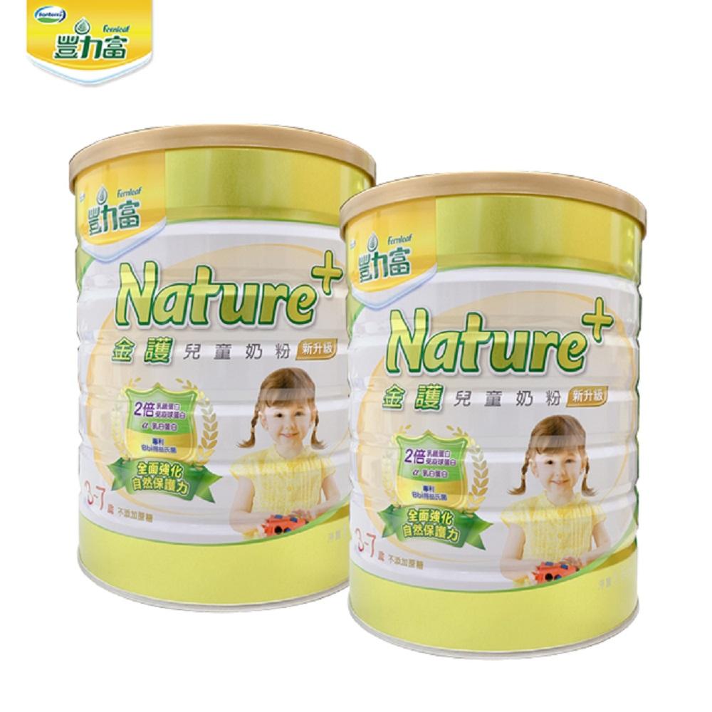 豐力富 Nature+ 3-7歲兒童奶粉1500g x2罐