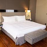 【法式寢飾花季】優雅生活-五星級飯店御用平紋被套(雙人6x7尺)