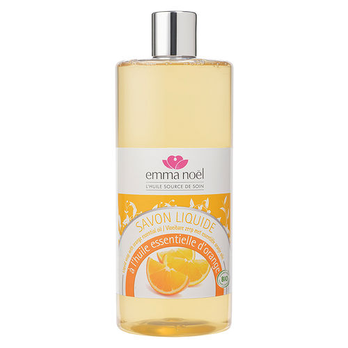 【Emma Noel 艾瑪 諾耶】 歐盟BIO有機柑橘果香馬賽液體皂1L
