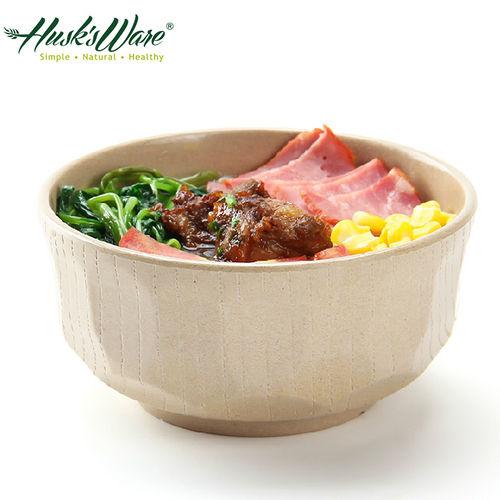 ~美國Husk's ware~稻殼天然無毒環保日式餐碗 六入
