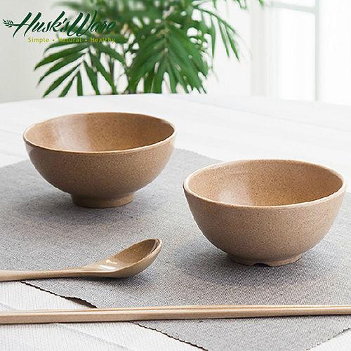 ~美國Husk's ware~稻殼天然無毒環保餐碗筷組 6碗6筷