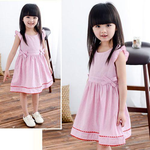 夏日《粉色雙結款》甜美氣質小洋裝【現貨+預購】