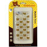 Rilakkuma 拉拉熊/懶懶熊 Xiaomi 紅米2 彩繪透明保護軟套-繽紛大頭熊