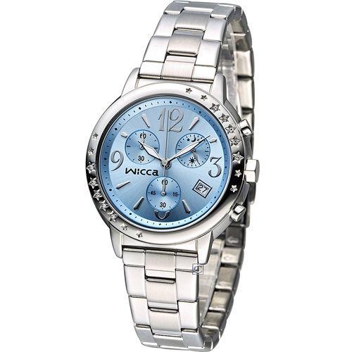 星辰 CITIZEN WICCA 繽紛甜美計時腕錶 BM1-113-71
