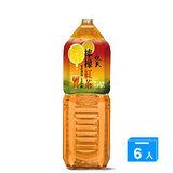 悅氏檸檬紅茶2000ml*6