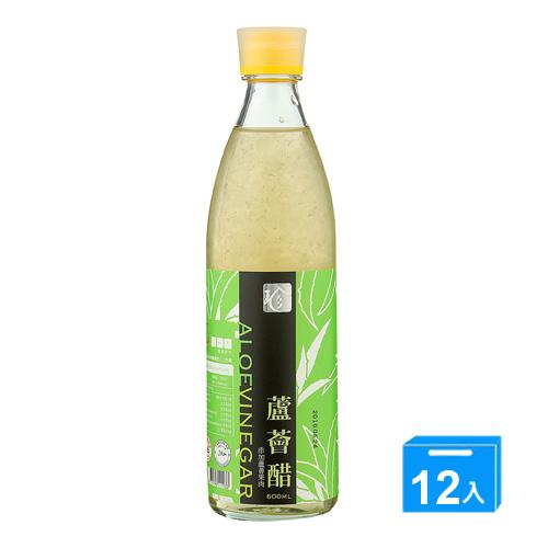百家珍蘆薈醋600ml*12