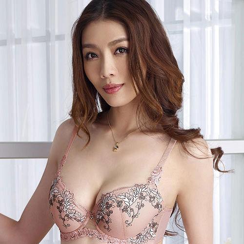 【Audrey】濃情巴黎 B-D罩內衣(清甜粉)