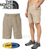 【The North Face男 快乾短褲/瀝灰】壓扣褲頭/瀝灰/快乾/排汗/短褲/CFT2★滿額送