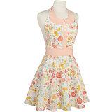 《NOW》洋裝式圍裙(山茶花)