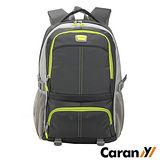 CARANY 卡拉羊 25L 大容量 電腦隔層 輕量後背包 書包 雙肩包 (深灰) 58-0008