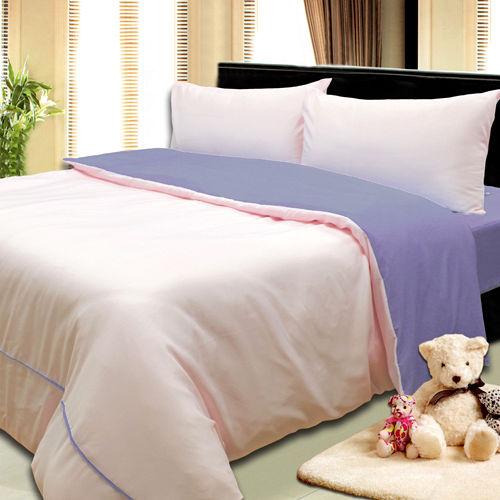 《KOSNEY  情調之美》3M吸濕排汗專利+涼感紗四件式加大床包被套組台灣製造