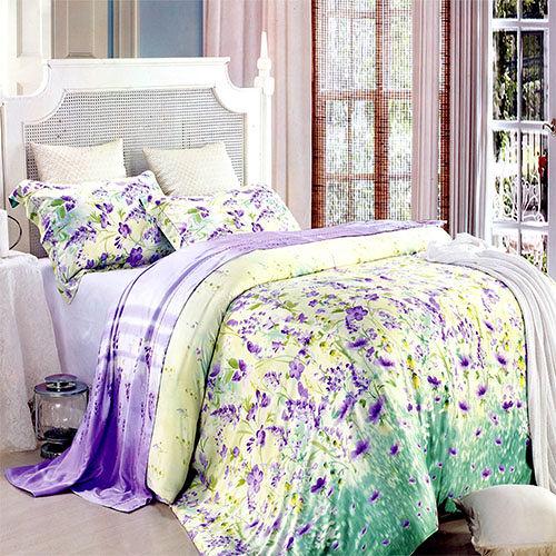 《KOSNEY 奇蹟夢想 》加大100%天絲TENCEL四件式兩用被床包組