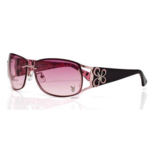 PLAYBOY-時尚太陽眼鏡(粉色)PB81011-8