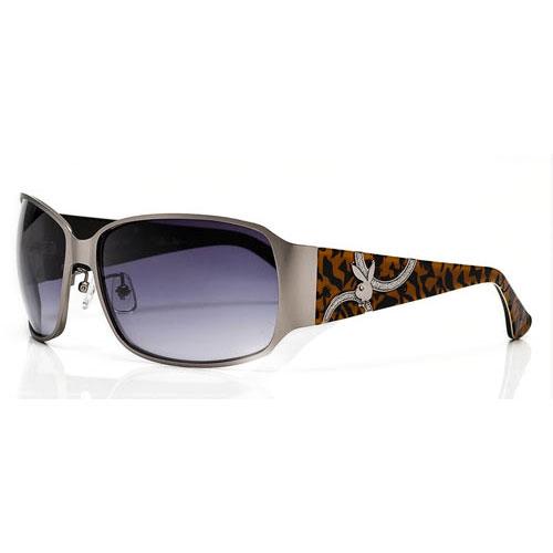 PLAYBOY-時尚太陽眼鏡(銀色)PB81015-M9L