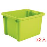 ★2件超值組★樹德SHUTER萬用置物盒NHA-2328-甜心綠(28*22.5*17cm)