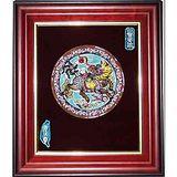 鹿港窯-交趾陶裝飾壁畫-玉書麒麟(M)