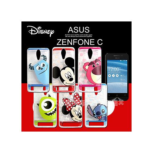 迪士尼授權正版 華碩 ASUS ZenFone C ZC451CG 大頭娃透明彩繪軟式保護殼 手機殼