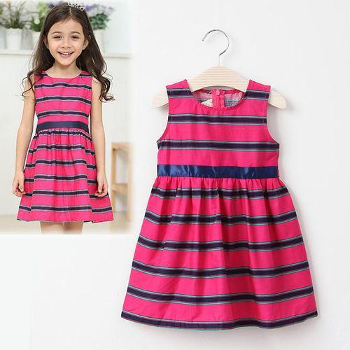 夏日《俏麗玫紅裙》甜美氣質小洋裝【現貨+預購】