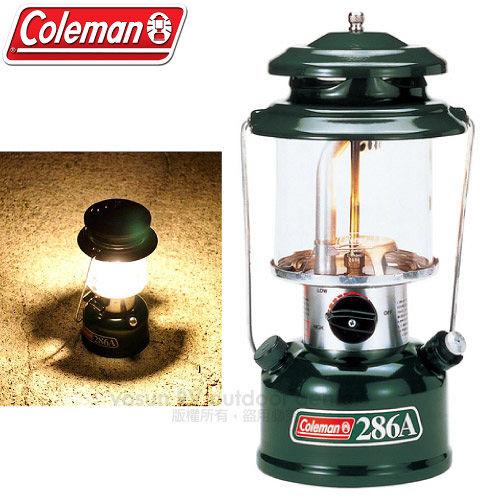 【美國Coleman】286氣化燈.汽化燈.露營燈.氣化燈.氣氛燈.餐桌燈./亮度約200CP/130W.使用時間7.5-15小時/CM-0286J