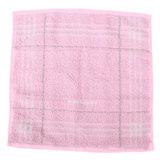 BURBERRY 亮粉紅色經典條紋戰馬LOGO方巾