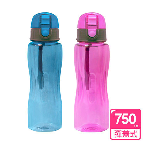 【SIRIUS犀利師】My Water晶鑽曲線水壺750ml(附提繩)