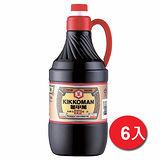 統一龜甲萬甘醇醬油1.6L*6