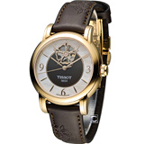 天梭 TISSOT Lady Heart 瑰麗藝術鏤空機械腕錶 T0502073711704