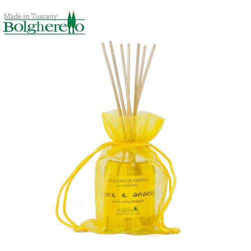 【Bolgherello 柏莉歐】天然精油花藝擴香瓶~檸檬鳳梨 100ml