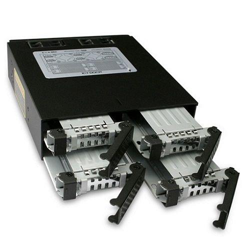 ICY DOCK 2.5吋SATA 硬碟抽取模組-MB994SP~4SB~1