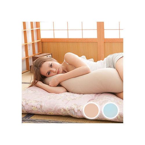 格藍傢飾-多功能療癒助眠長抱枕-卡其