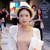 【PS Mall】歐美風織帶裝飾爵士禮帽/編織爵士帽/英倫帽(G064)