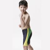 【SAIN SOU】兒童及膝泳褲附泳帽A65210