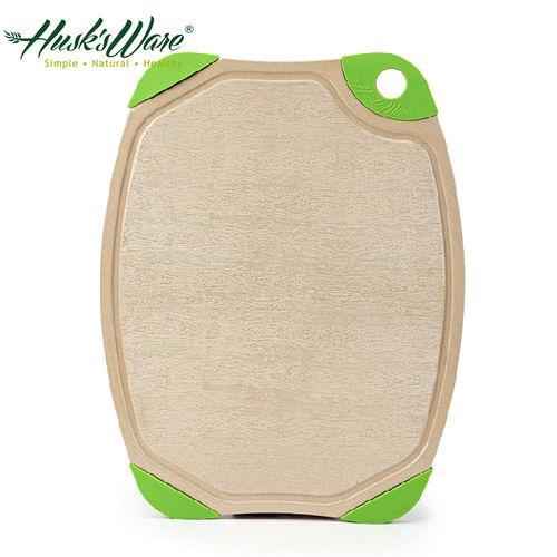 【Husk's ware】第二代美國Husk's ware稻殼天然無毒環保抗菌雙面砧板(中)