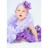 美國Jamie Rae 100%純棉髮帶 薰衣草紫寬髮帶+薰衣草紫玫瑰 (JRHBR02)