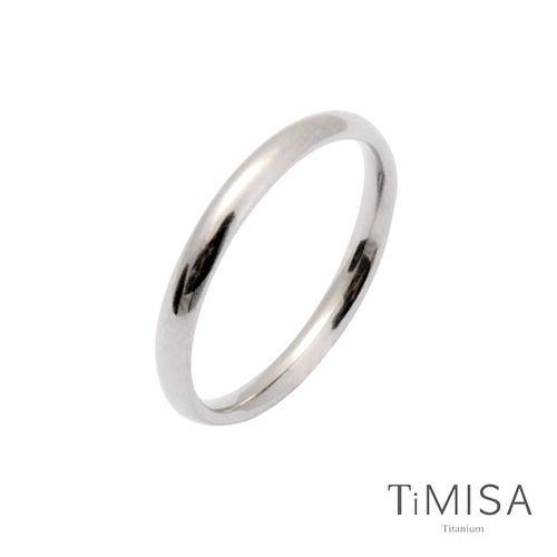 【TiMISA】純真 純鈦戒指